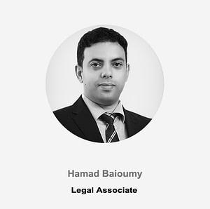 Hamad Baioumy _ Legal Associate